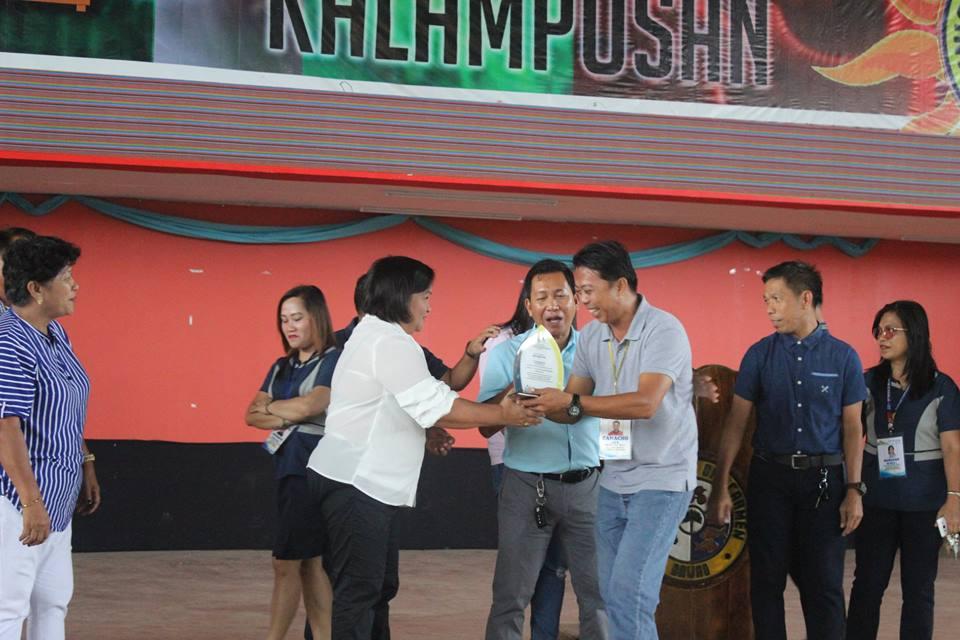 Nov. 16, 2018 – Award  from Regional Development Council XI
